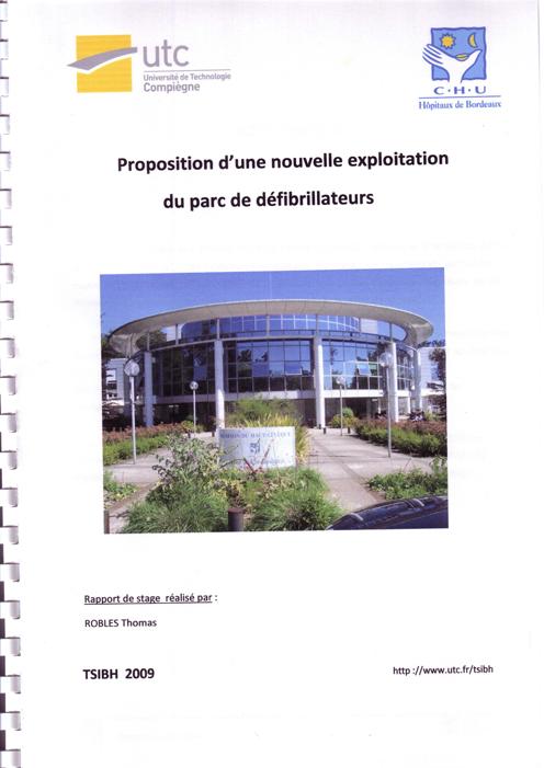 Liste des rapports de stage - Page de garde rapport de stage open office ...